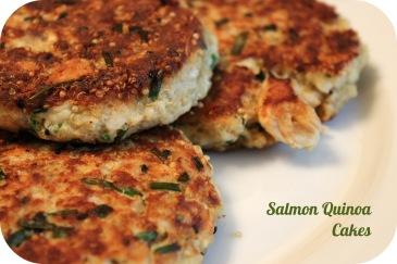 Salmon Quinoa Cakes